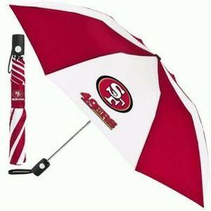 """NFL San Francisco 49ers 42"""" Umbrella"""